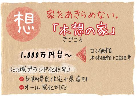 川崎工務店オリジナルプラン・木想の家